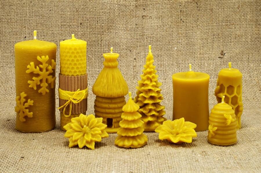 svíčky mix