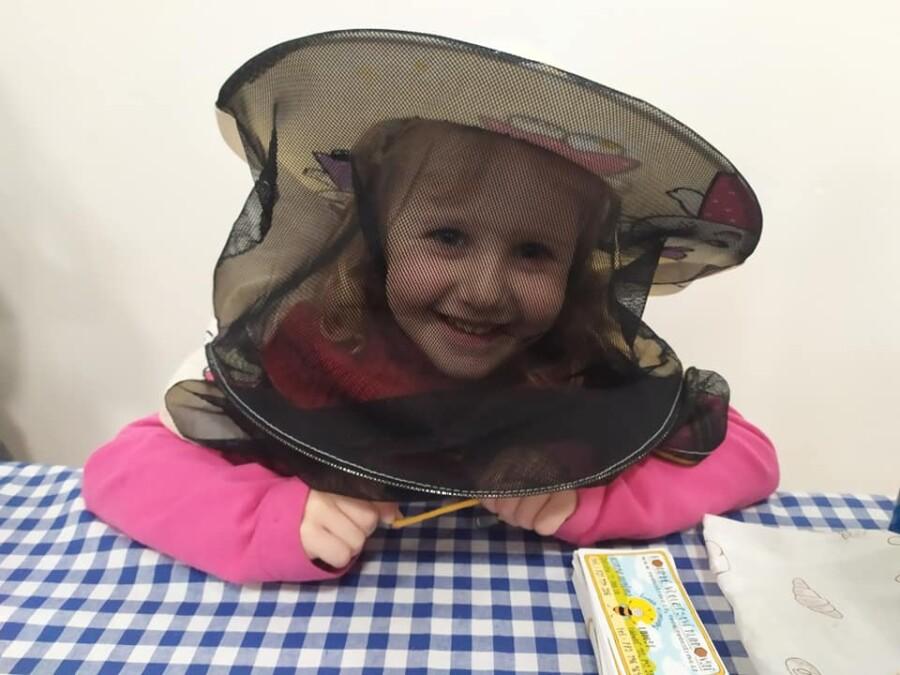 Naše nejmenší včelí pomocnice Anežka Klinkovská