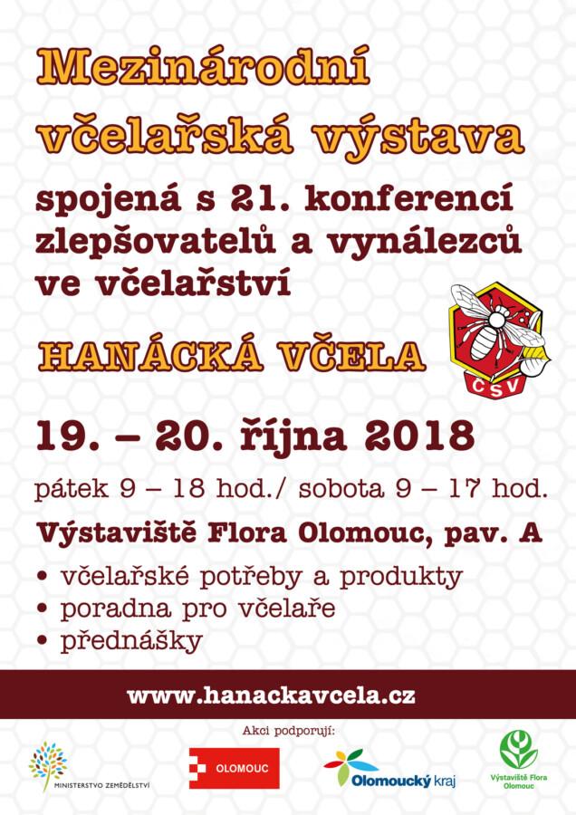 Hanácká včela, Flora Olomouc 2018